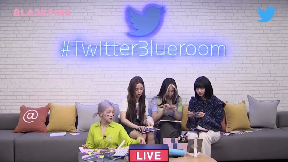[ENG SUB] BLACKPINK Twitter Blueroom LIVE Full 32-18 screenshot