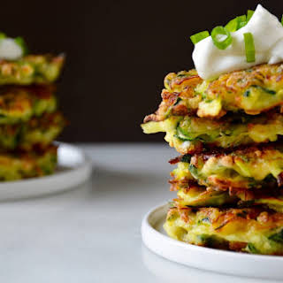 5-Ingredient Zucchini Fritters.
