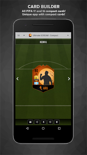 FUT Card Builder 18 3.8.3 screenshots 6