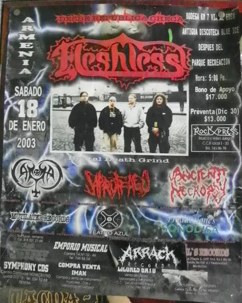 metal colombiano en europa