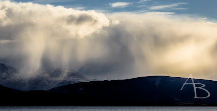 Photo: Snow comes