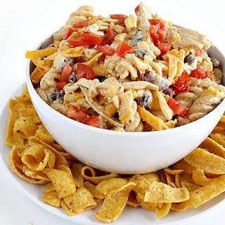 FIESTA RANCH CHICKEN PASTA SALAD Recipe