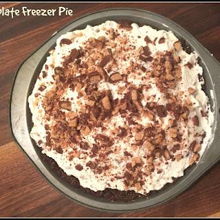 Baileys Chocolate Freezer Pie.