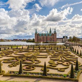 Frederiksborg Castle by Steve Densley - Buildings & Architecture Public & Historical ( hdr, frederiksborg, gardens, castle, frederiksborg castle,  )