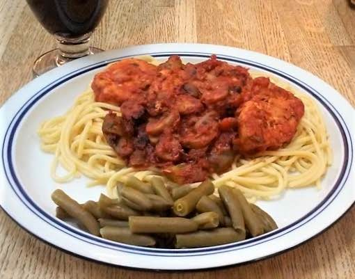 Chicken Cacciatore (ww Friendly) Recipe