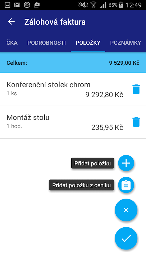 mPOHODA- screenshot