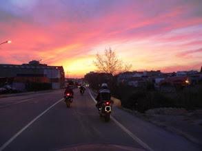 Photo: Spanien/Valencia: bei Pedralba, Ende erster Tourentag (Urheberrecht R. Mayer)