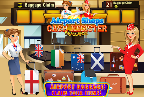 Airport Simulator Cashier FREE- screenshot thumbnail