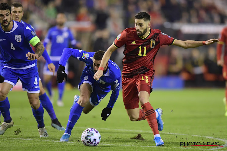Yannick Carrasco en discussions avancées avec un club de Premier League