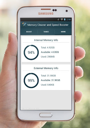 Memory Cleaner & Speed Booster 2.2 screenshot 76336