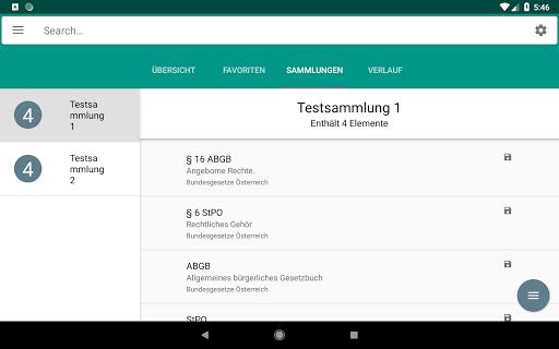 Lawdroid AT – Österreichische Gesetze und EU-Recht screenshot 15