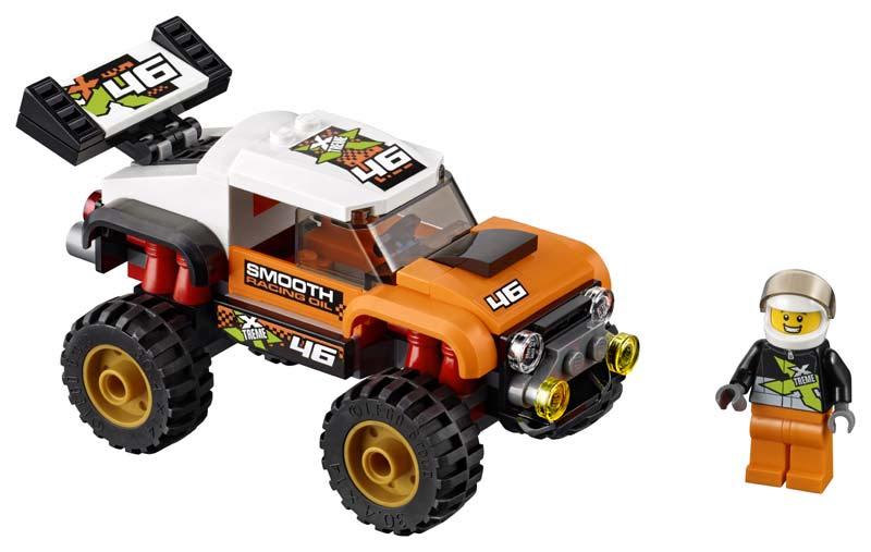 Contenido de Lego® 60146 Camión Acrobático