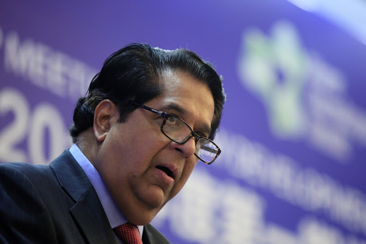 New Development Bank bank president KV Kamath. Picture: REUTERS