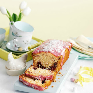 Coconut And Raspberry Loaf Cake