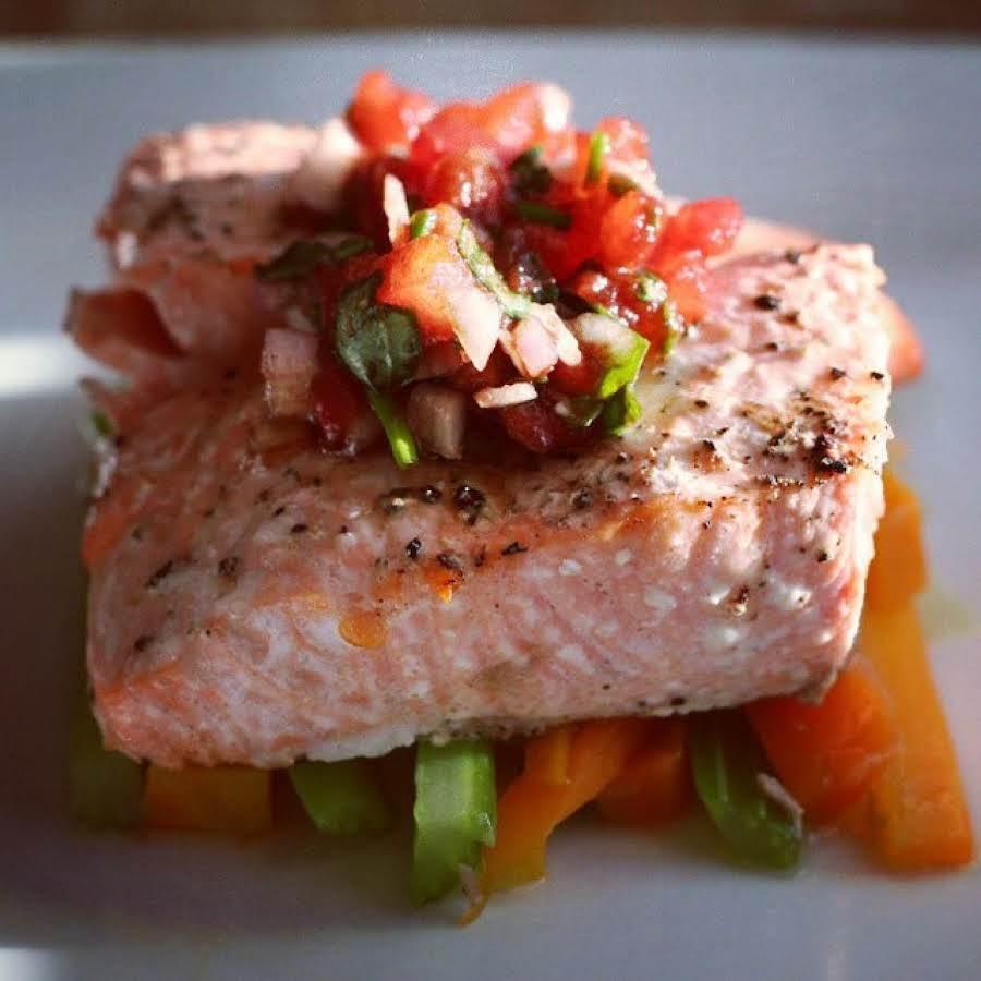 Baked Salmon Provencale Recipe