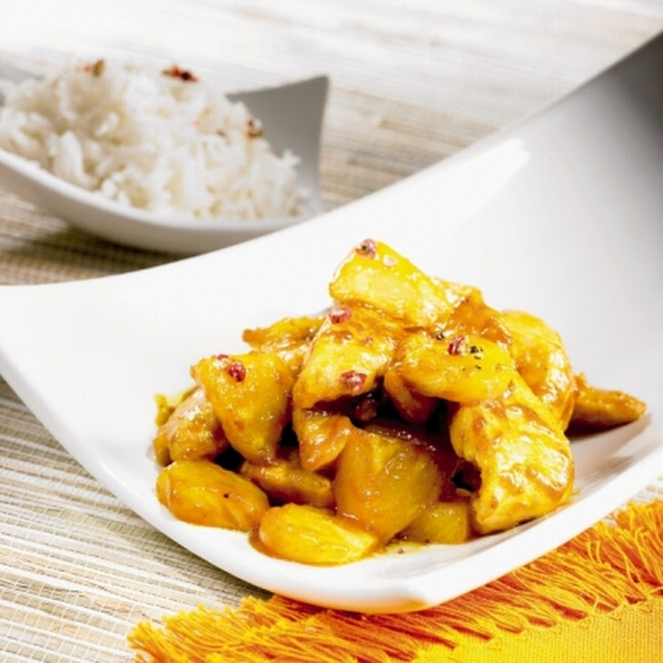 Saucy Chicken with Pineapple