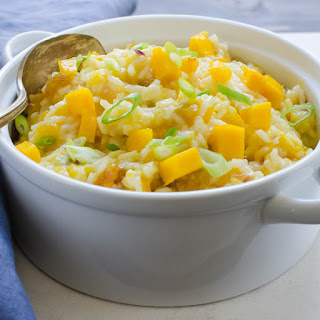 Coconut Mango Rice Recipe
