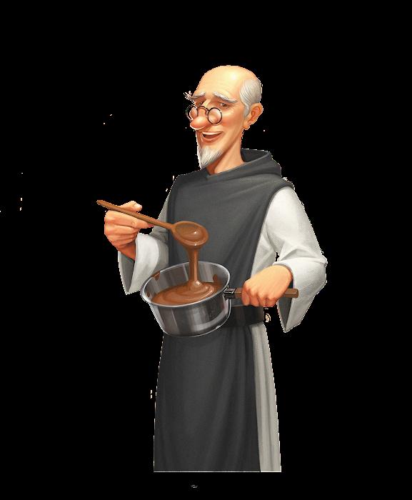 .... Le moine Savant .. The Scholarly monk ....