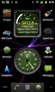 Widgets for Torque Screenshot