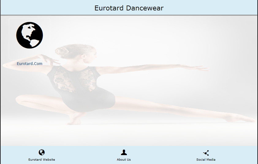 Eurotard Dancewear- screenshot