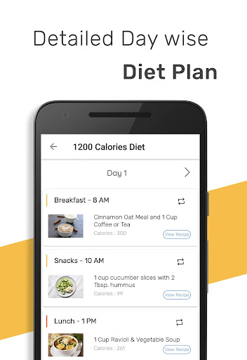 1200 Calorie Weight Loss Diet (Premium) screenshot 1