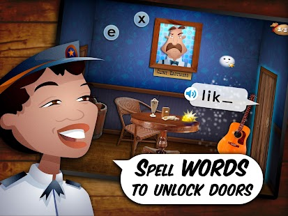 Mystery Word Town: Spelling- screenshot thumbnail