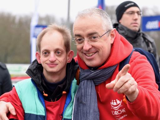 L'Arche La Ruisselée participe au Cross Ouest France  2019