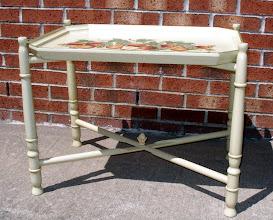 Photo: FOLDING BUTLER'S TRAY TABLE