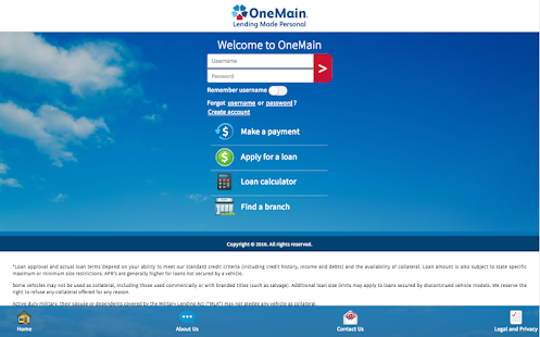OneMain - Personal Loans- screenshot thumbnail