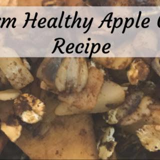 Apple Crisp Low-Sugar Slow Cooker Version (Gluten-Free!).
