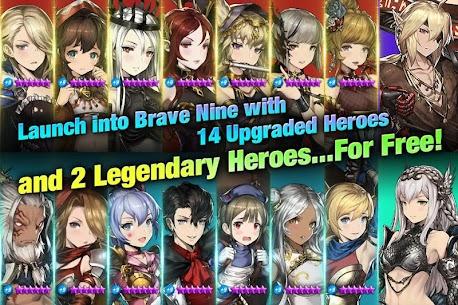 Brave Nine (Brown Dust) Mod Apk 2.9.9 (Battles Speed x20/God Mode) 2
