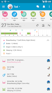 Baby Daybook - Breastfeeding & Care Tracker - náhled