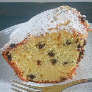 Chocolate, Ricotta Cake.