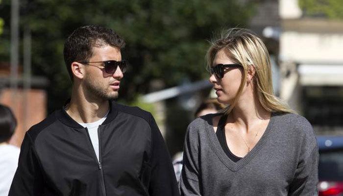 Maria Sharapova and Grigor Dimitrov