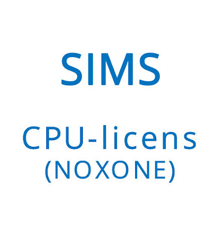 SIMS V6 - NOXONE - Software licens