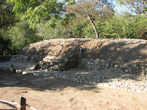 Photo: One of many structures in the newly opened Copilita archeological site.