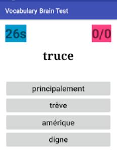 Vocabulary Brain Test - náhled