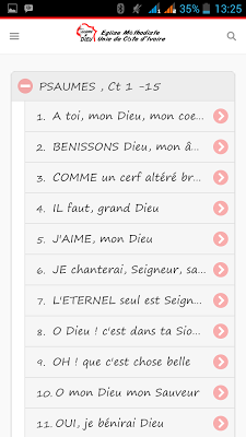GLOIRE A DIEU - screenshot
