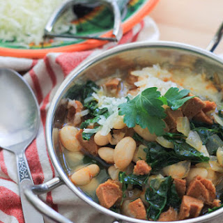 White Bean Stew with Chorizo and Kale