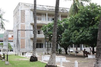Photo: Year 2 Day 35 -  Tuol Sleng Prison (S-21)  One of the 3 Main Buildings