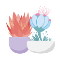 Flower Pots & Words Keyboard Stickers for Gboard icon