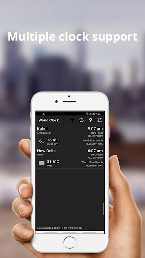 World Clock & Weather Widget 1.9.6 Screenshots 5