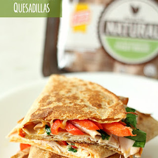 Turkey and Hummus Quesadillas