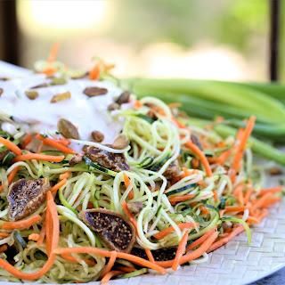 Angel Hair Zucchini Salad Recipe