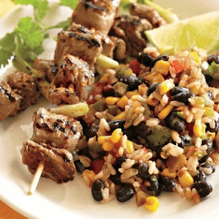 Southwestern Beef, Rice, And Black Bean Salad