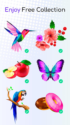 Tap Tap Color Mania - Coloring Book, Color by Dots 1.6 screenshots 2