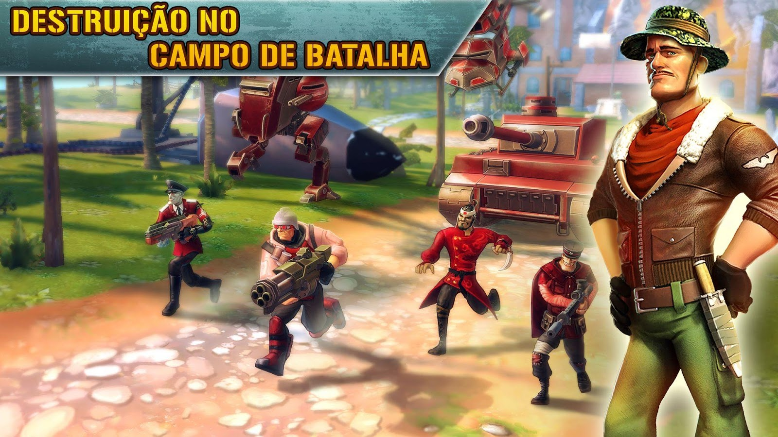 Blitz Brigade - FPS on-line!: captura de tela