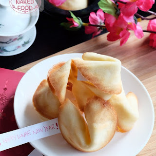 DIY Chinese Fortune Cookies Recipe