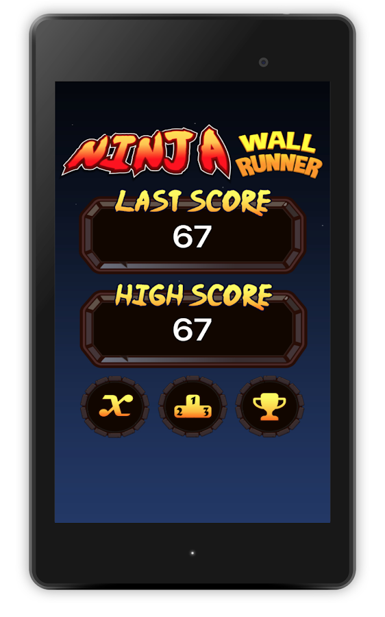 Ninja Wall Runner- screenshot