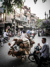 Photo: Hustle and Bustle in Hanoi, Vietnam - 2006 Adventures with a budget camera - LR Edit